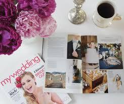 magazine wedding programs mandy bryce s wedding featured in my wedding magazine a