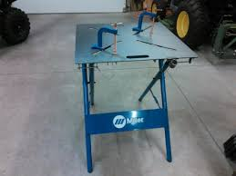 Miller 30fx Arcstation 30 X 30 Welding Table My Review By Kvusmc