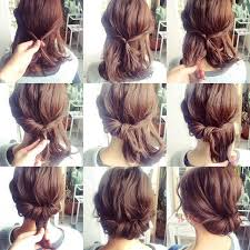 step by step easy updos for thin hair cool hairdos for medium hair easy