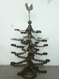 antique home ornament display stand wrought iron candle