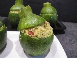 cuisiner des courgettes rondes courgettes rondes farcies au taboulé pour ceux qui aiment cuisiner