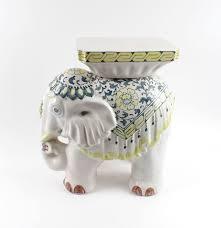vintage ceramic elephant plant stand ebth