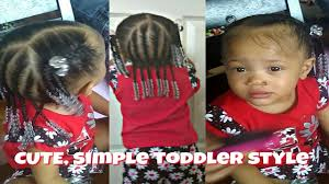 natural hair styles for 1 year olds simple cute hairstyle for 1 year old toddler quick and easy