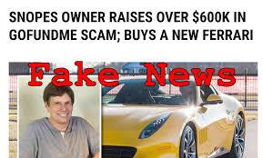 fake ferrari fake news snopes owner did not buy a new ferrari lead stories