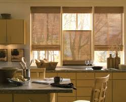 Rust Colored Kitchen Curtains Curtains Ideas For Kitchen Window Curtains Wonderful Orange