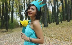 Lady Liberty Halloween Costume Diy Statue Liberty Costume Maskerix