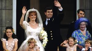 bbc history prince andrew u0027s wedding pictures video facts