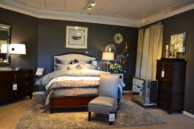Ethan Allen Upholstered Beds New Modern Glamour Heston Collection Tables And Dressers With