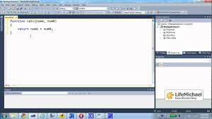 javascript coding using visual studio youtube