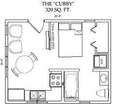 Tiny Home Floor Plan Ideas 3d Top View Of The Floor Plan Of The 320 Sq Ft Skylight Mountain
