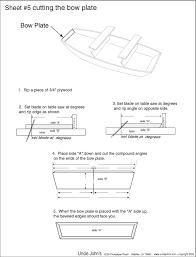 jon boat plans wooden boat kits