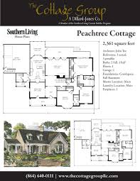 peachtree cottage the cottage group southern living house