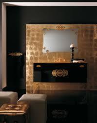 Gold Bathroom Ideas Bathroom Modern Glamour Bathroom Vanities With Black Gold Ideas