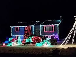 check out this christmas light display to u0027let it go u0027 in one north