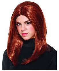 Halloween Costume Black Widow Avengers Black Widow Girls Costume Wig Kids Costumes Kids