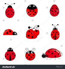 set funny small ladybugs stock illustration 202304020 shutterstock