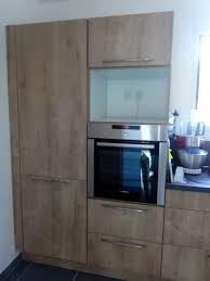 meuble four cuisine photo les deux colonnes frigo four micro ondes res