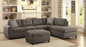 Sectional Couch With Ottoman by Stonenesse Sectional Sofa 500413 Coaster Furniture Sectional Sofas