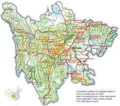 Changsha China Map by Sichuan Travel Map China Trekking Guide Route Map Photo