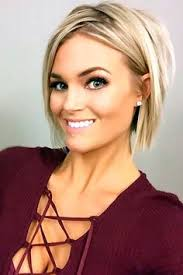 hairstyles for big women with fine hair graduated bob haircut trendy short hairstyles for women 9