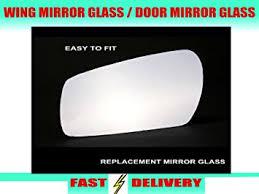 car door mirror glass wing mirror glass driver u0027s side offside door mirror glass amazon