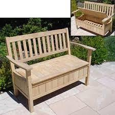 outdoor wood storage bench design ana white outdoor storage