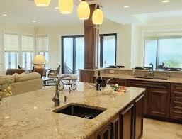 Kitchen Backsplash Trends Wooden Kitchen Countertop Finishes Black Granite Countertop Beige