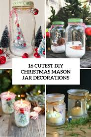Mason Jar Candle Ideas 16 Cutest Diy Christmas Mason Jar Decorations Shelterness