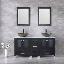 Solid Wood Vanities For Bathrooms Solid Wood Bathroom Vanity Ebay