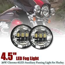 led fog light kit 2018 4 5inch cree led motorcycle fog light kit work driving l 4 1