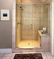 semi frameless glass shower enclosures framed doors custom