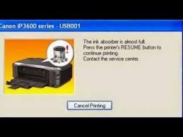 reset pixma ix6560 how to reset canon printer ix 6560 youtube