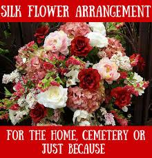silk flower arrangements silk flower arrangement flowers from the heart