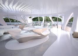 zaha hadid interior new interior photos of zaha hadid s modern superyachts