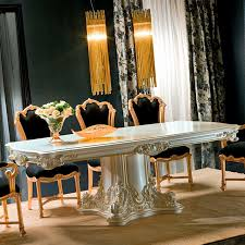 Classic Dining Room Furniture by Classic Dining Table Crystal Rectangular For Hotels