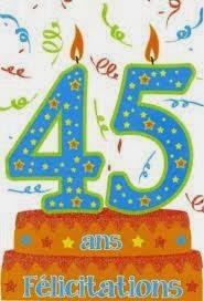 45 ans de mariage anniversaire de mariage 45 ans de mariage
