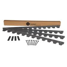 paver patio edging proflex 48 ft paver edging project kit in black 1260hd 48c the