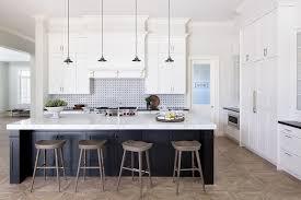 black kitchen island black kitchen island with gray wash wood barstools contemporary