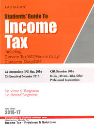 taxman students u0027 guide to income tax including service tax vat