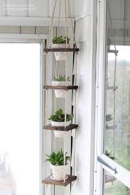 Modern Wood Planter by This Hanging Planter Is A Perfect Way To Also Use Up Some Wood
