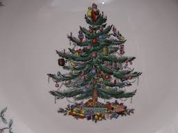 spode tree made in pie plate second wind