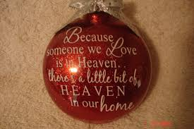 because someone we is in heaven ornament on storenvy