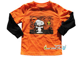 halloween snoopy background vampire snoopy and woodstock long sleeve orange and black