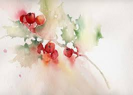image result for watercolor christmas card ideas christmas