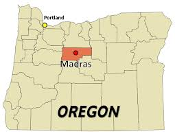 map of oregon showing madras 2017 total solar eclipse madras oregon