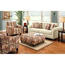 Striped Living Room Chair Wonderful Accent Chair And Ottoman Set Monarch Specialties I