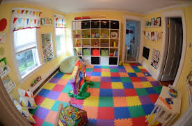 jeux d馗oration de chambre salle de jeux décoration intérieur jouet univers paradis enfant14