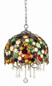 Stained Glass Pendant Light Stained Glass Hanging Pendant L Foter