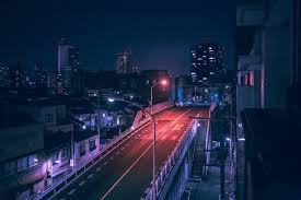 nighttime photos of tokyo the glow of neon lights
