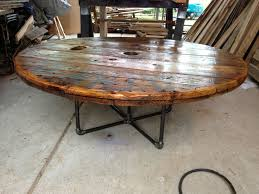 outdoor tables made out of wooden wire spools 181 best spools spools more spools images on pinterest cable